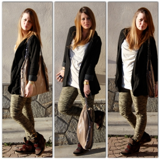 Outfit of the day Ash falabella