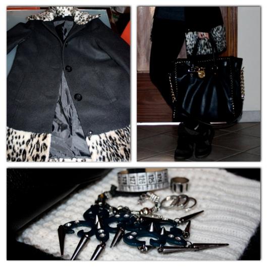 Cappotto H&M pelliccia leopard