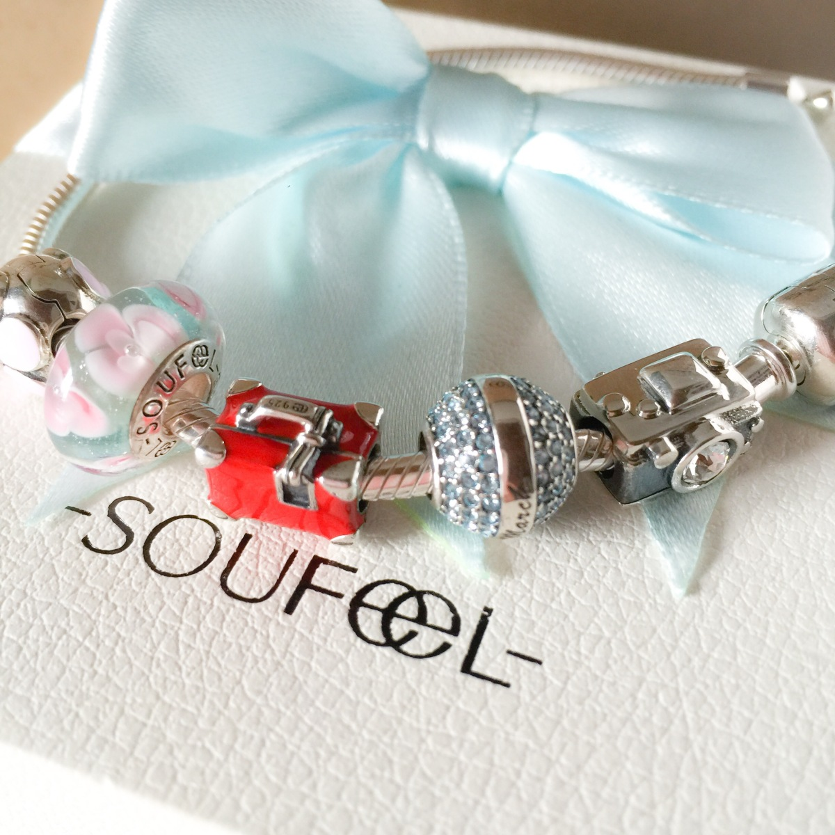 Soufeel jewels, bracciali con charms