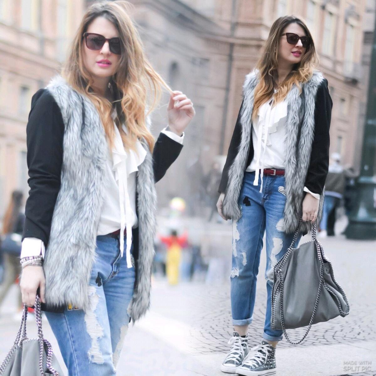 Jeans con patch..la nuova tendenza per un perfetto outfit streetstyle