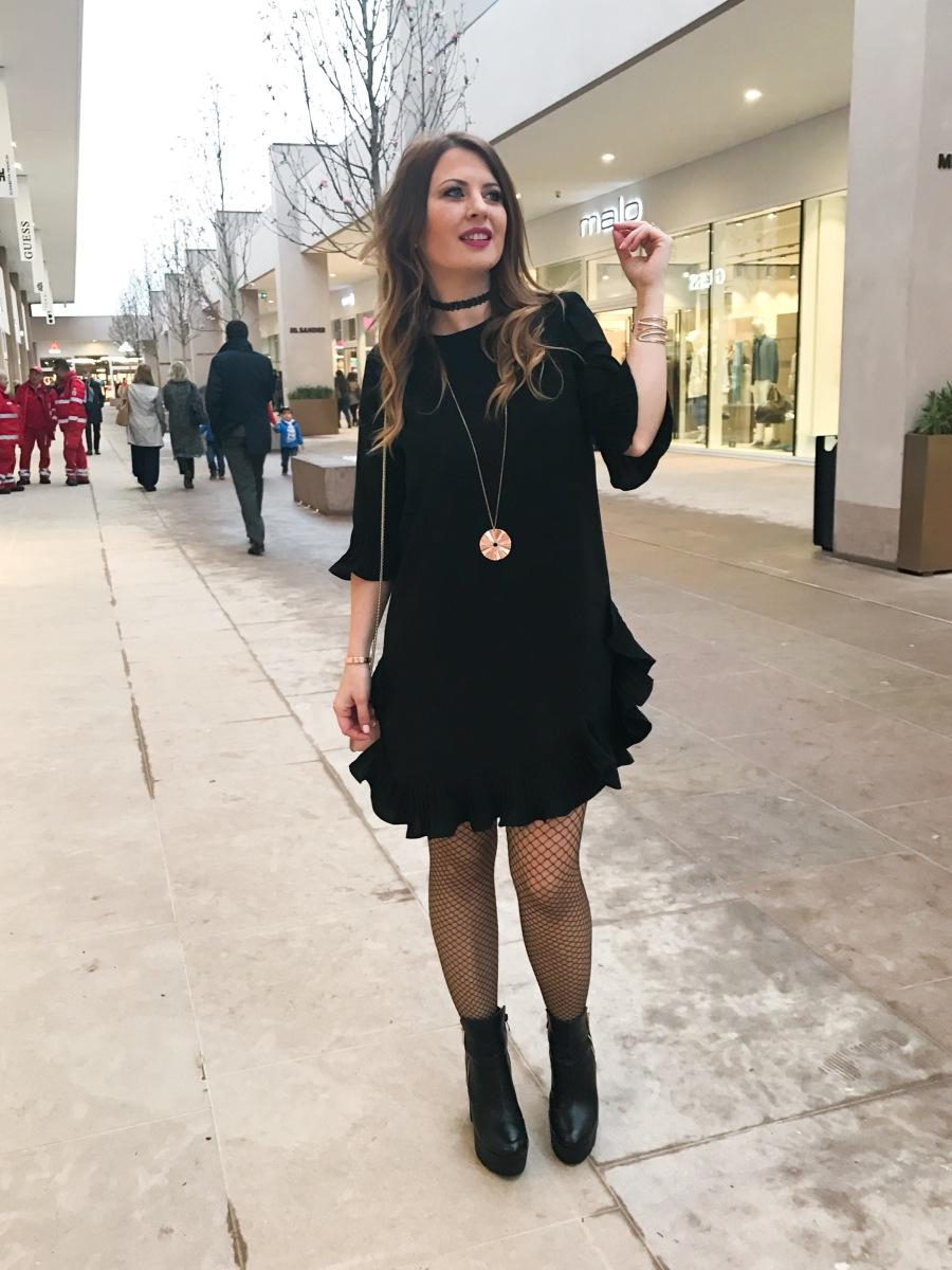 All'inaugurazione di Torino Outlet village col mio nuovo vestito Stylewe